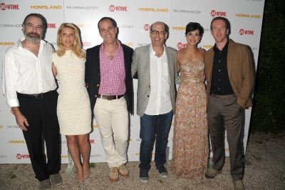 Mandy Patinkin, Claire Danes, David Nevins, Matt Blank, Morena Baccarin, Damian Lewis