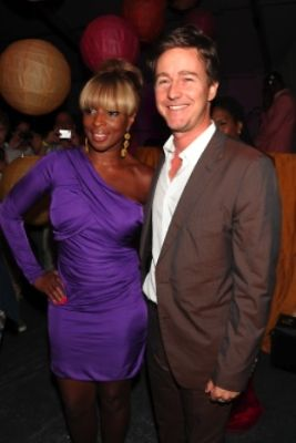 Mary J. Blige, Edward Norton