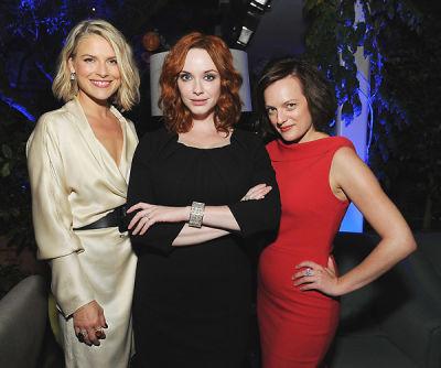 Ali Larter, Christina Hendricks, Elisabeth Moss