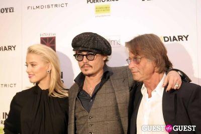 Amber Heard, Johnny Depp and Bruce Robinson