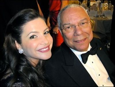 Julia Allison, Colin Powell