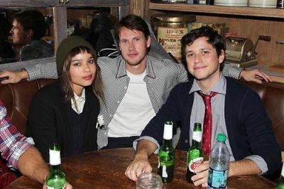 Zoe Kravitz, John Robinson, Ricky Ullman