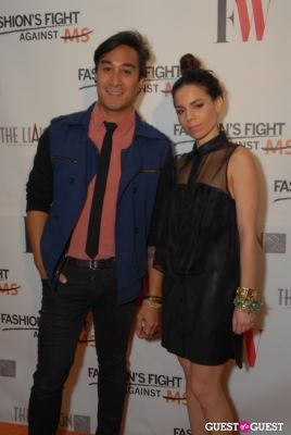 Nary Manivong and Ally Hilfiger at Fashion's Fight Against MS