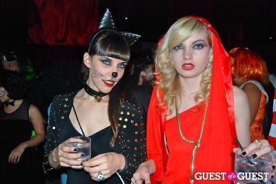 Scott Lipps, Nur Khan and Mazdak Rassi Halloween Party