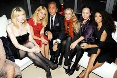 Courtney Love, Claire Danes, Valentino Garavani, Franca Sozzani, Eva Chow, Afef Tronchetti Provera