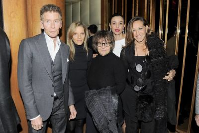 Calvin Klein, Sandra Brant, Ingrid Sischy, Drena De Niro, Donna Karen
