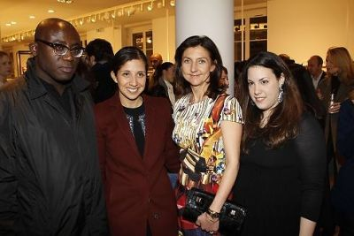 Edward Enninful, Karla Martinez, Sophie Delafontaine, Mary Katrantzou