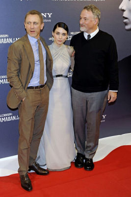 Rooney Mara, Daniel Craig, David Fisher