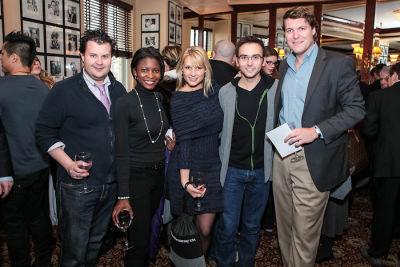 Brendan Kownacki, ABC 7's Jummy Olabanji, Katherine Kennedy, 94.7's Tommy Mcfly, Grant Allen
