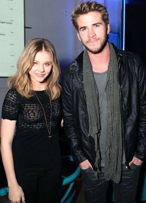 Chloe Moretz, Liam Hemsworth