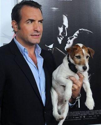 Jean Dujardin, Uggie