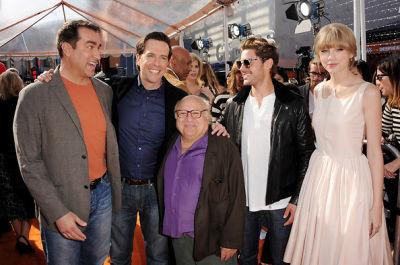 Rob Riggle, Ed Helms, Danny DeVito, Zac Efron, Taylor Swift