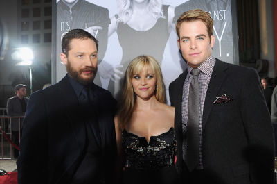 Tom Hardy, Reese Witherspoon, Chris Pine