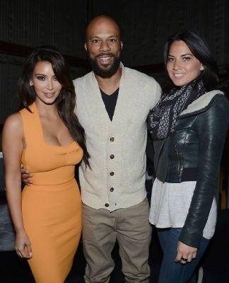 Kim Kardashian, Common, Olivia Munn