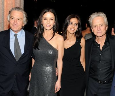 Robert De Niro, Catherine Zeta-Jones, Michael Douglas