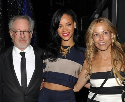 Steven Spielberg, Rihanna, Sheryl Crow