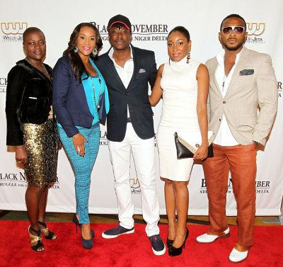 Angelle Kwemo, Vivica A. Fox, Jeta Amata, Mbong Amata and Enyinna Nwigwe