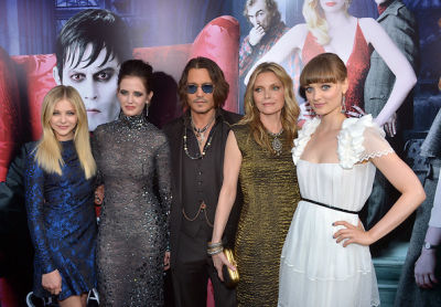 Chloe Moretz, Eva Green, Johnny Depp, Michelle Pfeiffer, Bella Heathcote