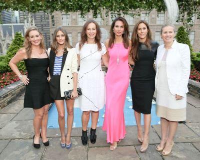 Gillian Hearst Simmonds, Olivia Palermo, Katharina Flohr, Whitney Fairchild, Cristina Cuomo, Nathalie Kaplan