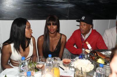Shontelle, Jessica White, Russell Simmons
