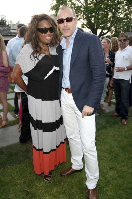 Star Jones, Matt Lauer