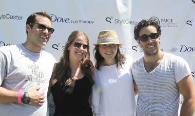 Ari Goldberg, Emily Washkowitz, Meghan Cross, David Goldberg