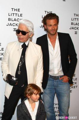 Karl Lagerfeld, Hudson Kroenig, Brad Kroenig