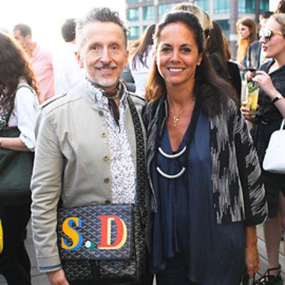 Simon Doonan, Maria Cornejo