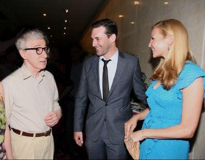 Woody Allen, Jon Hamm, Jennifer Westfeldt