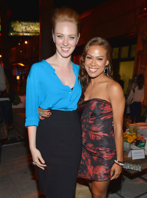 Deborah Ann Woll and Toni Trucks