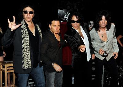 Gene Simmons, Eric Singer, Paul Stanley, Tommy Thayer