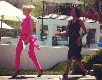 Gwen Stefani, Michelle Obama