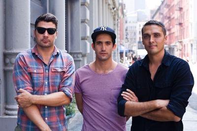 Josh Rosen, Morgan Collett, Colin Tunstall