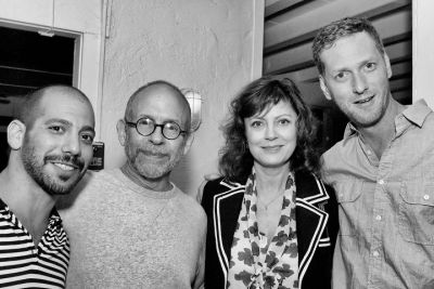 Lee Sternthal, Bob Balaban, Susan Sarandon, Brian Klugman