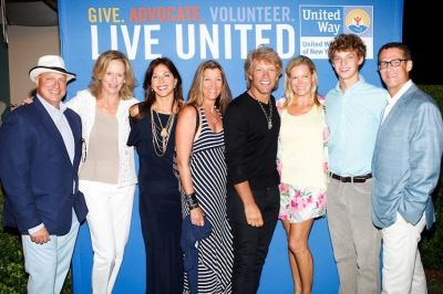 Tom Colicchio, Susan Burden, Lori Silverbush, Dorothea Hurley, Bon Jovi, Avis Richards, Dylan Richards, Bruce Richards