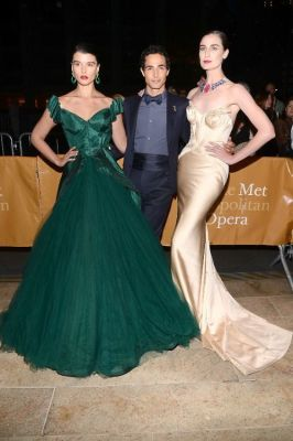 Crystal Renn, Zac Posen, Erin O'Connor