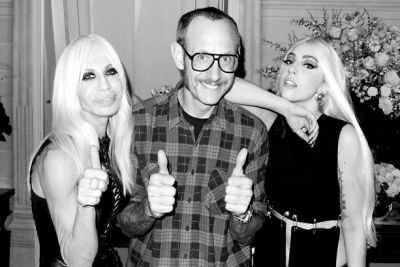 Donatella Versace, Terry Richardson, Lady Gaga