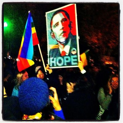 White House 2012 election night