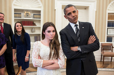 McKayla Maroney, President Obama