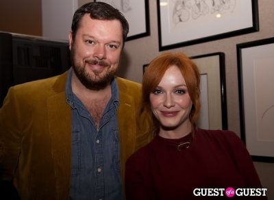 Michael Gladis, Christina Hendricks