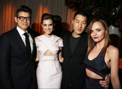 Peter Som, Allison Williams, Richard Chai, Christina Ricci