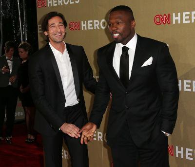 Adrien Brody, 50 Cent