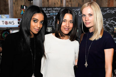 Azie Tesfai, Julia Jones, Katie Parfet
