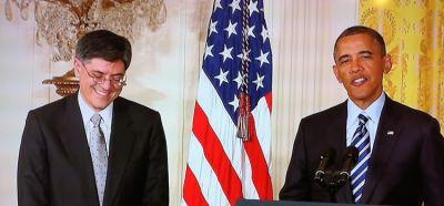 Jack Lew, President Obama