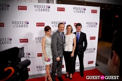 Kate Mara, Kevin Spacey, Robin Wright, Beau Willimon