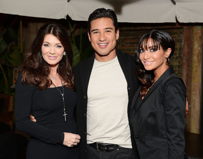Lisa Vanderpump, Mario Lopez, Courtney Mazza