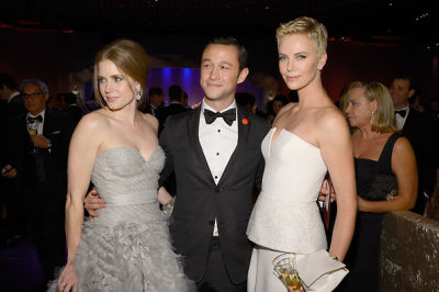 Amy Adams, Joseph Gordon-Levitt, Charlize Theron