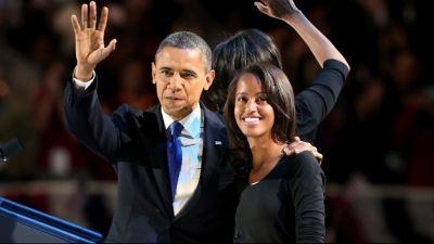 President Obama, Malia
