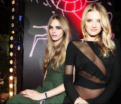 Cara Delevingne, Lily Donaldson