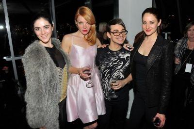 Isabelle Fuhrman, Nicole Laliberte, Christian Siriano, Shailene Woodley